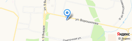 ALARM-сервис на карте Ижевска