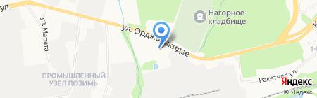 Комос Групп на карте Ижевска