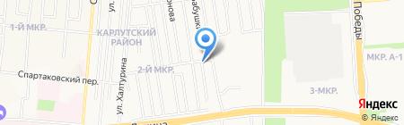 Лапушка Сад на карте Ижевска