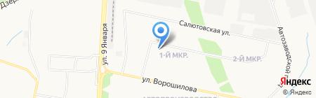 Детский сад №51 на карте Ижевска