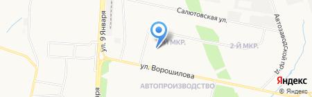 Детский сад №169 на карте Ижевска