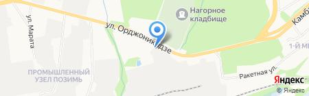 ПромИндустрия на карте Ижевска