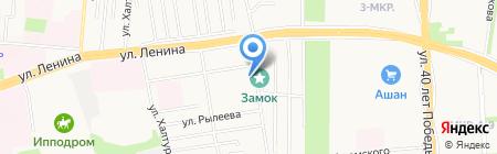 Сделано в Удмуртии на карте Ижевска