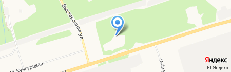 Огневой рубеж на карте Ижевска