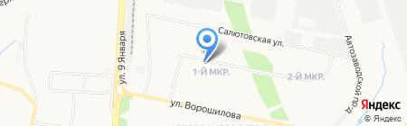 ГлавИжШтамп на карте Ижевска