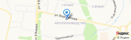 CLEANER на карте Ижевска