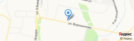 Ломбард доходный на карте Ижевска
