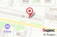 Схема проезда до компании Лакокраска в Ижевске