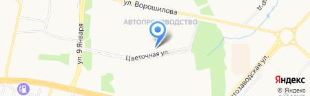 Роскоминвест на карте Ижевска