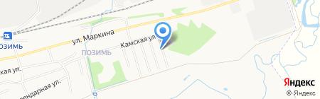 Autocold на карте Ижевска