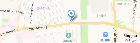 Фаворит-авто на карте Ижевска
