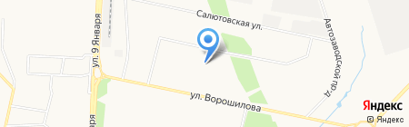 Институт комплексного проектирования на карте Ижевска