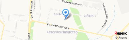 Ижнефтепроект на карте Ижевска