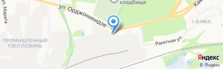 Удмуртские коммунальные системы на карте Ижевска