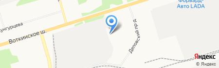 Ижспецоснастка на карте Ижевска