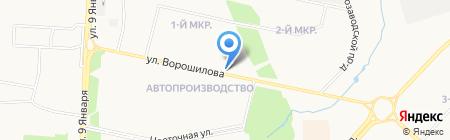 Связной Travel на карте Ижевска