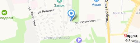 Лайф на карте Ижевска