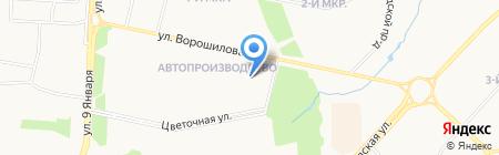 Центр дошкольного образования и воспитания Устиновского района на карте Ижевска