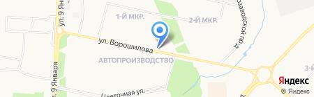 Магазин продуктов на карте Ижевска