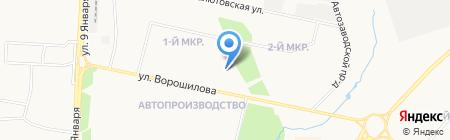 Стиляги на карте Ижевска