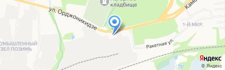 Сан-Моторс на карте Ижевска