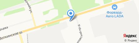 Универсальный магазин на карте Ижевска