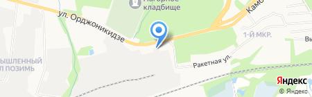 Штурман-мото на карте Ижевска