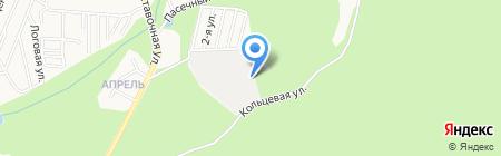 Лесная на карте Ижевска
