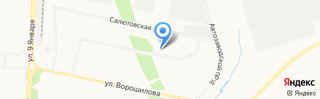 Детский сад №192 на карте Ижевска