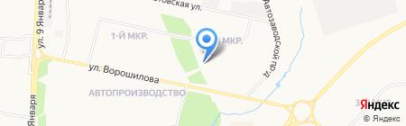 Инструмент-Сервис на карте Ижевска