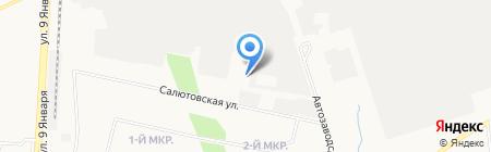 Промсвязь-Автоматика на карте Ижевска