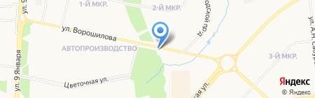 Дельта-Авто на карте Ижевска
