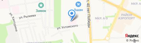 Детская городская больница № 3 Нейрон МЗ УР на карте Ижевска