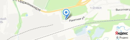 Мал да удал на карте Ижевска