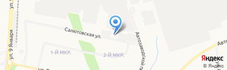 ИжСтройГарант на карте Ижевска