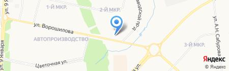 Лео Смарт на карте Ижевска