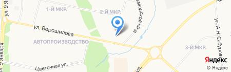 Кредо на карте Ижевска