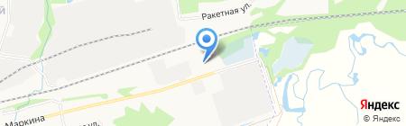 Технология на карте Ижевска