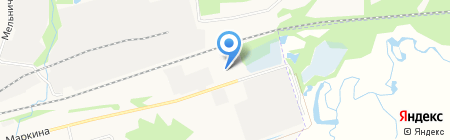 Агродом на карте Ижевска