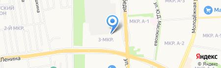 ИжСтальСтрой на карте Ижевска