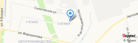 Управление благоустройства и транспорта Администрации г. Ижевска на карте Ижевска