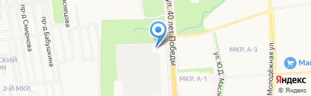 Пожарная часть №19 на карте Ижевска