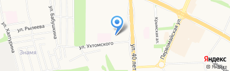 Республиканский детский дом на карте Ижевска