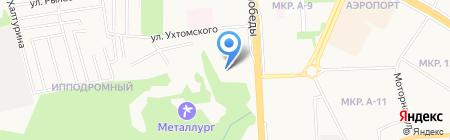 Ижнефтемаш на карте Ижевска