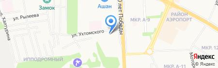 Сигнал на карте Ижевска