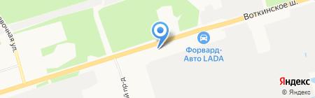 Драфт плюс на карте Ижевска