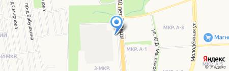 Торнадо на карте Ижевска