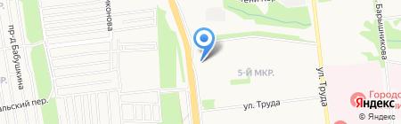 Уральский Промышленный Металл на карте Ижевска