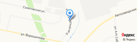 Плюс-Фарма на карте Ижевска