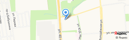 Мастерская по ремонту обуви на карте Ижевска